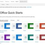 Office Quick Starts - Office Support